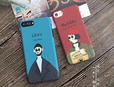 Korean Style iPhone 8 case/iPhone 8 Plus case  Cute red blue iPhone8/8 Plus Case