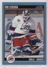 1992-93 Score Canadian #123 Bob Essensa Winnipeg Jets Hockey Card