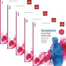 ABRSM Saxophone Exam Pieces 2018-2021 combiné pack: options grades 1,2,3,4,5