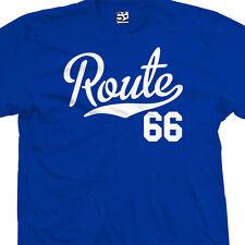 Route 66 Script Tail Shirt - Historic Rte Gift Souvenir Tee - All Sizes & Colors