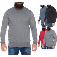 Herren Sweatshirt Pullover Sweater Pulli Langarmshirt Übergröße bis 8XL ID564