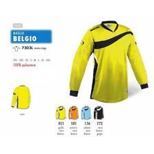 SPORTIKA MAGLIA PORTIERE BELGIO - GIALLO-NERO -BIANCO - CODICE 7303L-021
