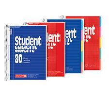 College bloque a4 80 hoja spiralblock Student pozo a cuadros con líneas rautiert