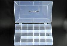 17 compartimentos köderbox resellable maleta surtido recuadro tackle Box transparente