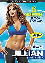 Jillian Michaels: 6 Week Six-Pack New DVD! Ships Fast!