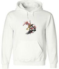 Sparrow Red Snow Painting Cartoon Art Hoodie Sweatshirt Pullover