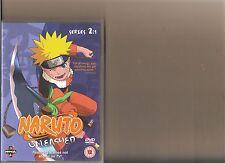 NARUTO UNLEASHED SERIES 2 VOLUME 1 DVD MANGA ANIME 2.1