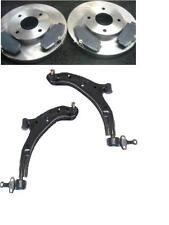 Para Nissan Almera N16 1.5 1.8 2.0 2.2 dCi 2 Almohadillas de disco de freno frontal Wishbone Brazos