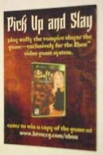 RARE MINT PROMO BUFFY THE VAMPIRE SLAYER XBOX GAME CONTEST CARD 2003