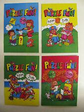 MINI Puzzle divertente libro viaggi A6 Dimensione foto disegno Dot to Dot linea Fun kids miliardi