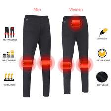 HOT Electric Heated Warm Pants Men Women USB Heating Elastic Trousers Leggings