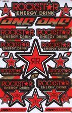 New Rockstar Energy Motocross ATV Enduro Racing Graphic stickers/decals. (st75)