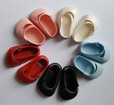 Vintage Cinderella dolls strap shoes size 3 fit Pedigree Palitoy Roddy