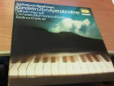 LP DG BEETHOVEN KEMPFF CONCERTI N.2 & N.4 PER PIANOFORTE DG 2535 426 BERLINO