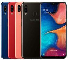 """Samsung Galaxy A20 SM-A205F/DS (32GB) Factory GSM Unlocked 6.4"""" HD 3GB RAM - LTE"""