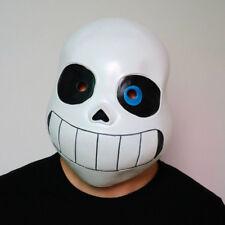 Cosplay Legend Undertale Sans Costume Latex Mask Funny Halloween Party Headgear