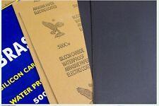 "NEW 1 Sheets 9"" x 11"" ( 23cm X 28cm ) Wet Dry SANDPAPER 80 - 2000 GRIT DIY"
