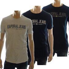 Tee shirt kaporal Homme manches courtes ZURBY , divers coloris