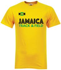 Giamaica Track & Field t-shirt-M/F-Olympic correre atletica leggera e USAIN BOLT