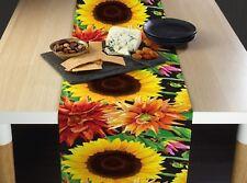 "Sunflower Garden Signature Table Runners - 12"" x 72"" or 14"" x 108"""