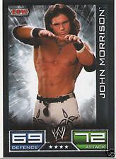 Official WWE Slam Attax - John Morrison ECW Card