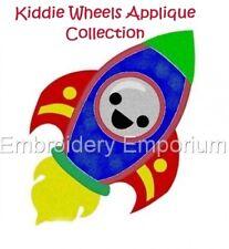 Apliques De Colección-máquina Kiddie ruedas Embroidery Designs en CD