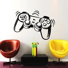 Joystick Wall Decal Gamer Decals Playstation Vinyl Sticker Nursery Decor Chu1169