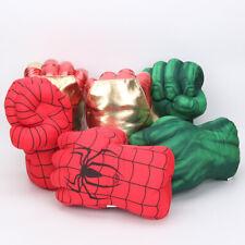 Iron Man Spider-man Hulk Smash Punching Boxing Gloves Plush Toy Cosplay Gift