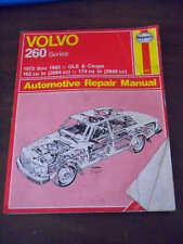 Volvo 260 Series Manual 1975-1982 GLE Coupe 162 cu in Repair Guide Book