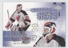 2001 Upper Deck Mask Collection 118 Martin Brodeur New Jersey Devils Hockey Card
