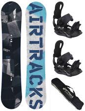 Snowboard Set AIRTRACKS Jungle Rocker+Bindung Star oder Master+Bag/145 150 155cm