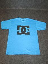 Mens Genuine DC Casual Fashion Skate BMX MX Tee T-Shirt S M L XL - Blue DC05