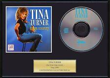 TINA TURNER - Framed CD Presentation Disc Display