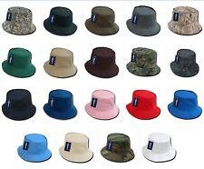 Fisherman's Fishing Sun Bucket Safari Hiking Boonie Cotton Unisex Army Cap Hat