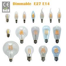 E14 E27 B22 12W EDISON Retro Filament LED Bulb Candle Light Spot Lamp Dimmable