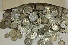 MAKE OFFER 4 Standard Ounces 90% Silver Junk Coins Half Dollars Quarters Dimes