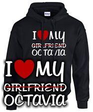 I LOVE MY girlfriend OCTAVIA Tuning Zubehör vrs rs skoda SATIRE FUN SWEATSHIRT
