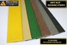 Anti Slip Decking Strips for Slippery Decking Walkways, Ramps & Paths