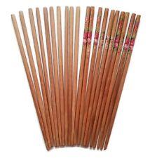Bamboo Chopsticks Japanese Chinese Sushi Nation Food Natural Wood Reusable Pairs