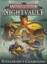 Warhammer Underworlds - Nightvault - Steelheart's Champions Cards