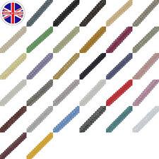 Trim Gimp Braid Edging Soft Furnishing Sheen Pattern Finish 13mm