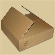 40 Faltkartons 350x350x250mm B-410g//m2  Versandkarton Falt Kartons BRAUN