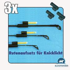 RUTENAUFSATZ FÜR KNICKLICHTER,  GUMMI KNICKLICHTHALTER, KNICKLICHT, BISSANZEIGER