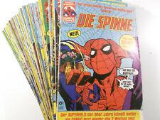 Auswahl Spider-Man Die Spinne Heft # 1 - 150 ( Condor Verlag 1980 1.Auflage )