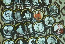 'Rockabilly Legends' fridge magnets 50s rockabilly rock'n'roll