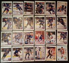 1990-91 UPPER DECK NEW YORK ISLANDERS Select from LIST NHL HOCKEY CARDS