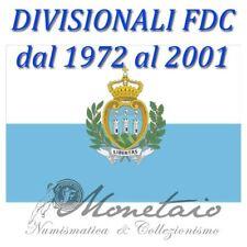 (Monetaio) Rep. San Marino Divisionali Zecca dal 1972 al 2001 Lire Argento FDC