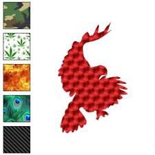 Hawk Pouncing Bird Falcon Decal Sticker Choose Pattern + Size #2386