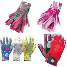Damen Arbeitshandschuhe Gartenhandschuhe Handschuhe Garten Gr. 6 - 9  (XS-L)