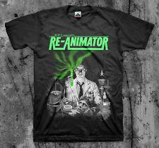 RE-ANIMATOR - Movie T Shirt (Cult Horror Gore Classic Splatter)